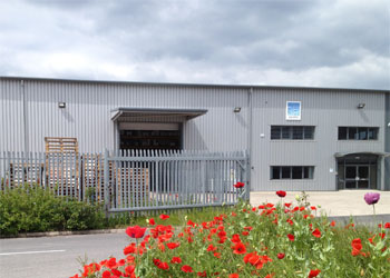 AquaTec Coatings premises based on Wrexham Industrial Estate