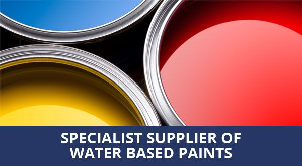 Specialist supplier of water based paints