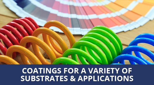 Coatings for a variety of substrates & applications