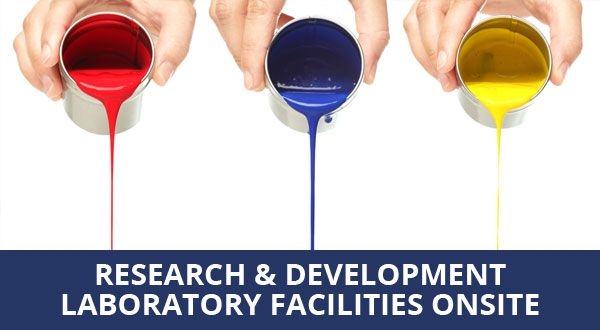 Research & development laboratory facilities onsite