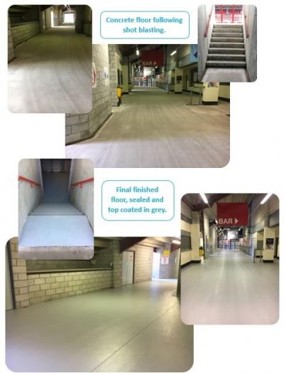 Football Ground Arena Floor Coating